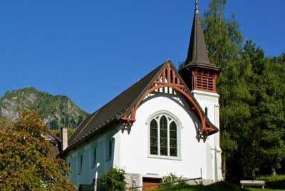 History of English Churches in Switzerland: St. Michael and All Angels - Caux