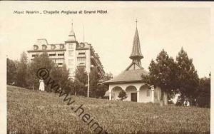History of English Churches in Switzerland: English Chapel - Mont Pelerin