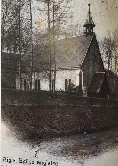 History of English Churches in Switzerland: St. John the Evangelist - Aigle