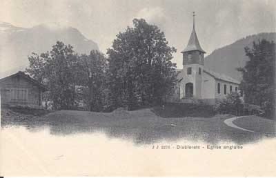 History of English Churches in Switzerland: English Church - Les Diablerets