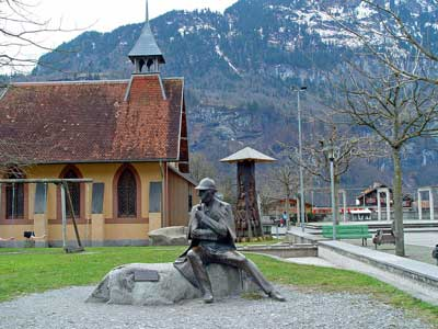 History of English Churches in Switzerland: English Church - Meiringen