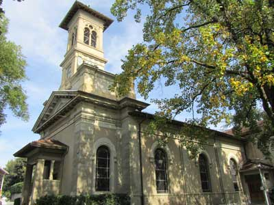 History of English Churches in Switzerland: Temple de la Croix d'Ouchy - Lausanne-Ouchy