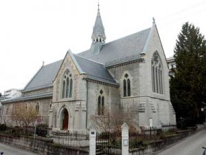 History of English Churches in Switzerland: Christ Church - Lausanne