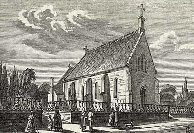 History of English Churches in Switzerland: St. John's - Montreux