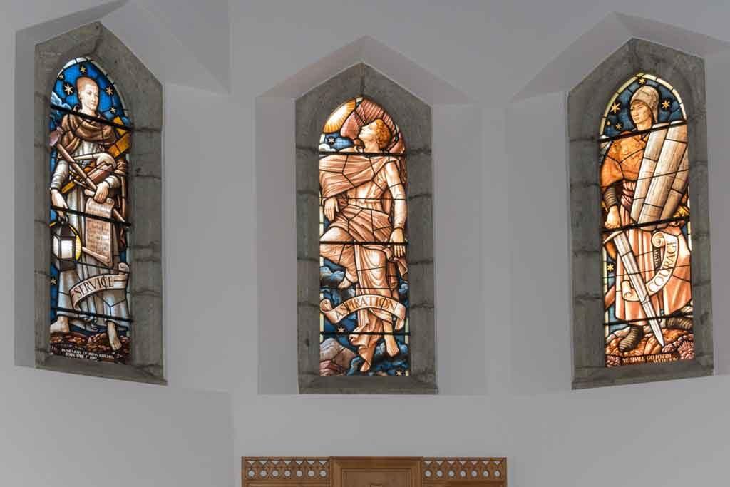Restoration English Church Château d'Oex